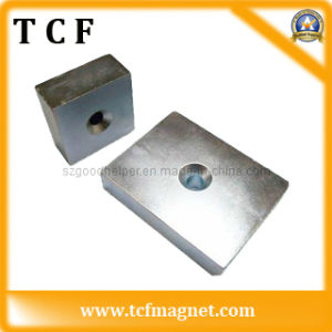 Block Permanent NdFeB Magnet with SGS Certificate