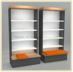 China Wooden Shoes Wall Display Cabinet