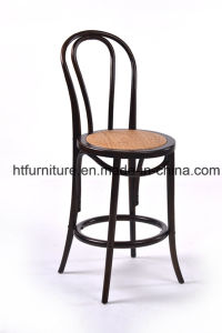 Black Thonet Bar Stool