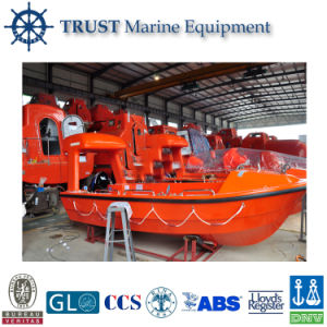 Marine Fiberglass Open Type Rescue Lifeboat pictures & photos