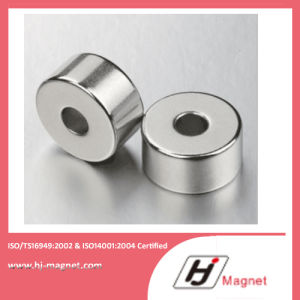 N35-52 Super Strong Ring Neodymium Permanent Magnet with Free Sample