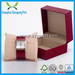Custom Leather Wooden Watch Display Box Wholesale pictures & photos
