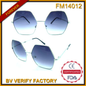 FM14012 Special Designed Shaped Metal Frames Male Lunettes De Soleil pictures & photos