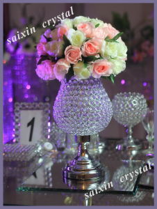 Wedding Decor Crystal Flower Vase