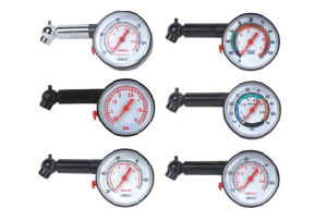 Promotional Economy Dial Tire Gauge with Customized Logo pictures & photos