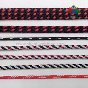 Wholesale Striped Braided Polypropylene/ PP Rope pictures & photos