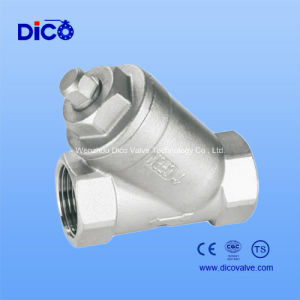 Stainless Steel Thread Y Type Strainer pictures & photos