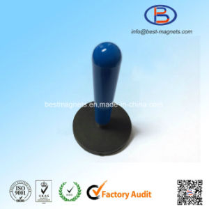 Rubber Coated/Covering Block Magnetic Pot/Gripper