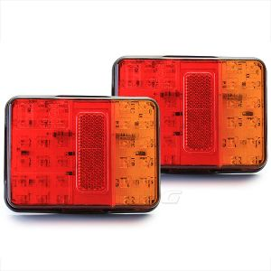 Tail Lights Lamps for Trucks Trailers Lorry Van