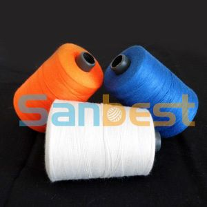 Meta-Aramid Fire-Retardant Sewing Thread with Self-Extinguishing pictures & photos