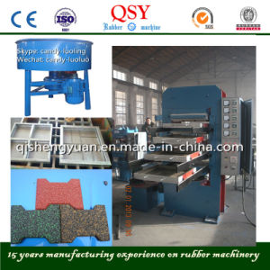 Frame Rubber Tiles Vulcanizing Press Machine pictures & photos