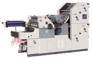 Double Colors Bill Printing, Numbering, Perforating and Collating in One Pass Machine (HS47ANPS-4PY) pictures & photos