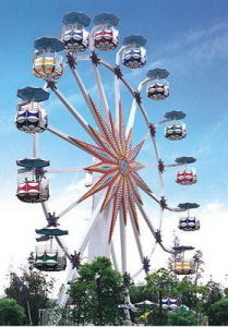 Big Large Ferris Wheel with Illumination Wonder Wheel Outdoor Playground Amusement Park Rides pictures & photos