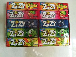 Zi Zi 5 Fruit Flavors Chewing Gum with Tattoo pictures & photos