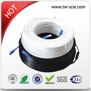1 Core LSZH Outdoor Drop Fiber Cable pictures & photos