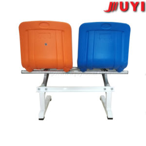 Easy Chair Material for Armless Concert Waiting Room Fancy Resin Chairs with Writting Pad All-Plastic City Bus Seats pictures & photos