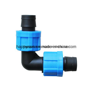 Lock Elbow Driptape for Drip Irrigation pictures & photos