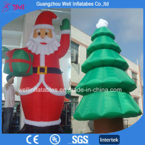 Inflatable Christmas Decorations.Inflatable Santa Clause And Christmas Three Christmas Decorations For Sale