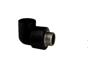 Black Plastic Water Supply Pipe