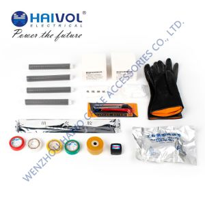 Haivol 18/20kv High Voltage 3-Core Cold Shrinkable Joint Kit Applicable of Cable Cross-Section 95mm^2