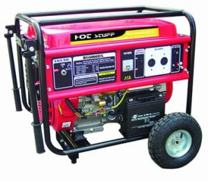 Open Type Air-Cooled Gasoline Generator (RG6000) pictures & photos