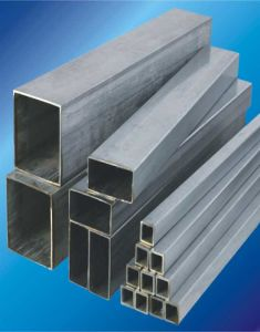 312\304L Square Stainless Steel Tube Pipe / Hollow Bar/Channel Bar