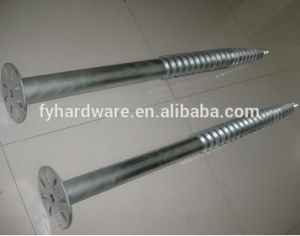 Low Price Flange Krinner Ground Screws Anchor