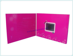 Promotional Video Display Card