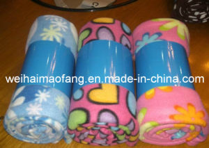 Very Supersoft Polar Fleece Baby Blanket pictures & photos