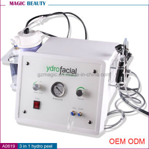 Best Selling 3 in 1 Hydro Microdermabrasion Facial Machine Beauty Equipment pictures & photos