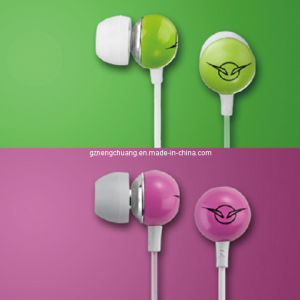 Newest Colorful Ceramic Earphone with Microphone (NCH-IV-1)