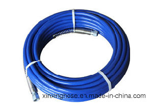 Dp-637h 2-Layers Fibre Braided High Pressure Airless Painting Hose pictures & photos