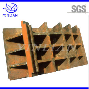 Carbon Steel Waffle Slab for Crusher Machine Spare Parts