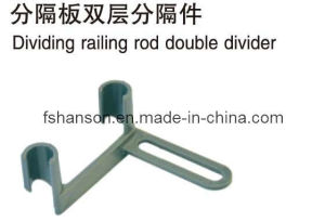 Double-Layer Divider for Dividing Railing of Add on System