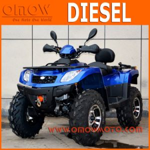 Diesel 900cc 4X4 4 Wheel Motorcycle