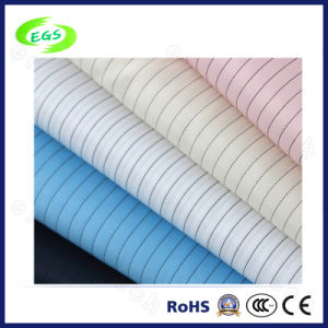 Polyester Cleanroom ESD Fabric for Work Uniform (EGS-531) pictures & photos