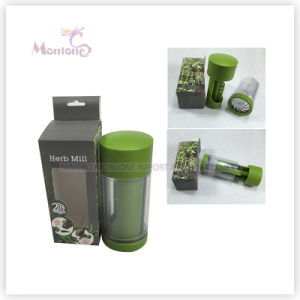 Kitchen Helper High Quality ABS+Stainless Steel Herb Mill 15.5X6.5X6.5cm pictures & photos