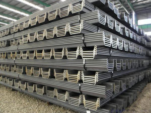 Hot Rolled Steel Sheet Piles pictures & photos