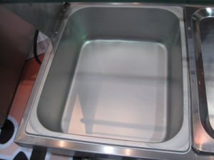 Electric Bain Marie for Keeping Food Warm (GRT-RTC3H) pictures & photos