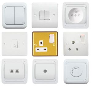 2017 Hot Selling Cheap Price Home Electrical Light Wall Switch Socket