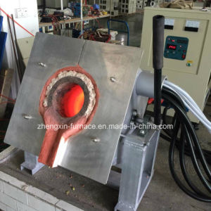 100kgs Induction Melting Furnace for Iron Steel Aluminum Copper Scrap Alloy pictures & photos