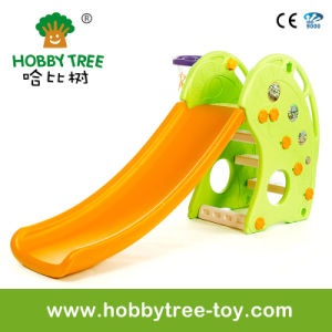 2017 Dolphin Style Indoor Plastic Slide for Kids (HBS17023B)