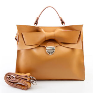 Fashion Genuine Leather Top Handle Bag Women Shoulder Tote Handbag pictures & photos