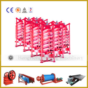 High Recovery Rotary Spiral Chute for Washing Coal Separator