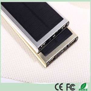 Ultra Slim Dual USB 12000mAh Solar Powerbank (SC-1688-A) pictures & photos