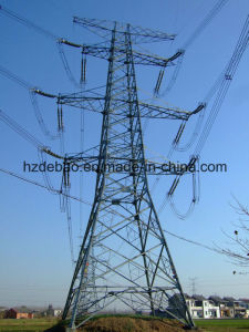 Angle Steel Frame Electric Power Transmission Tower