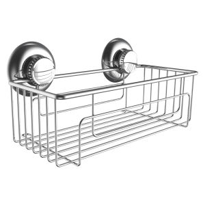304 Stainless Steel Shower Caddy with Suction Cup