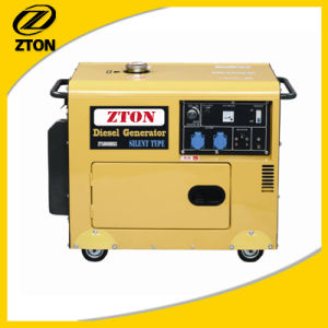 Silent (Soundproof) Portable Electric Diesel Generator pictures & photos