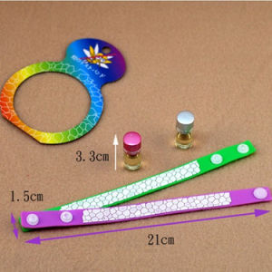 Fashion Mosquitos Repellent Wristband Bangle Silicone Anti Mosquito Bracelet pictures & photos