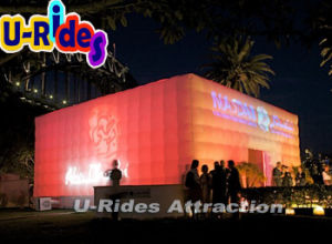 Waterproof Large LED lighting Inflatable Cube Tent pictures & photos